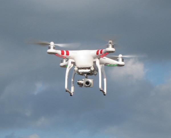 Robotics Team 888 has a new quadcopter!