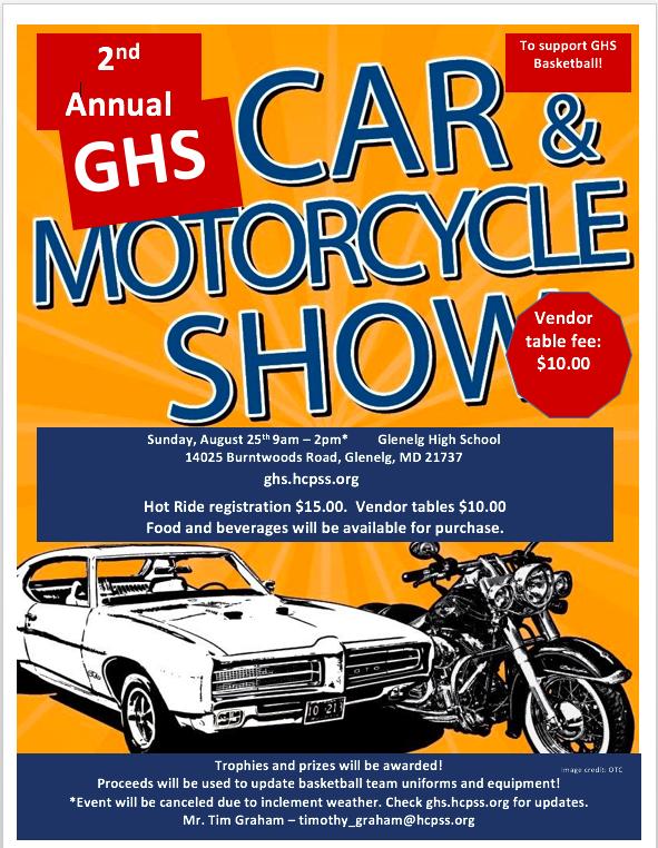 Car Show image 8-25-19