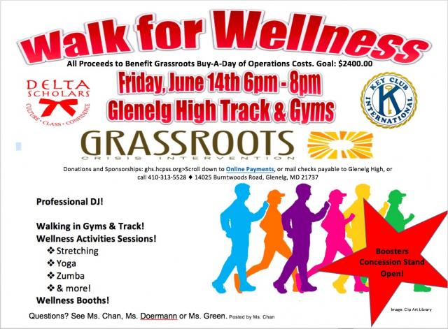 Walk for Wellness event June 14, 2019